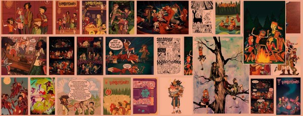Friendship to the Max! A Review of Lumberjanes!