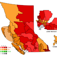 BC Election results from 2009