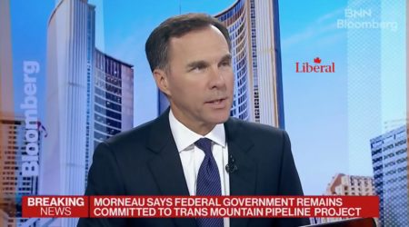 Bill Morneau says Trans Mountain expansion, fuck yes!